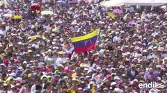 Miles llegan al megaconcierto en la frontera con Venezuela
