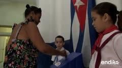 Los cubanos se lanzan a votar por una nueva Constitución