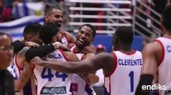 La Selección celebra su clasificación a la Copa Mundial FIBA