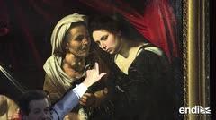 El misterio rodea la develación de un cuadro perdido atribuido a Caravaggio