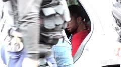 El momento en que un alegado ladrón trató de escapar en Guaynabo