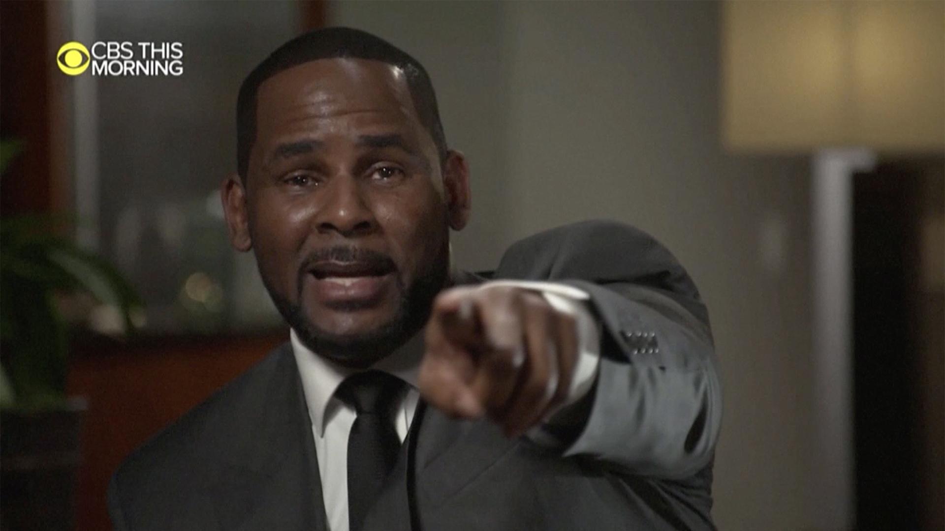 R Kelly Pierde El Control En Una Explosiva Entrevista El