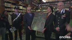 Italia regresa al gobierno mexicano 600 pinturas religiosas