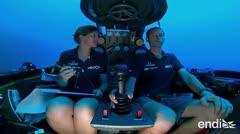 Logran una transmisión en vivo bajo el Océano Índico
