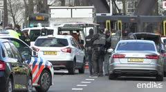 Ataque mortal en un tren de Holanda