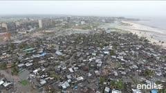 Estremecedora lucha contra el reloj en Mozambique y Zimbabue