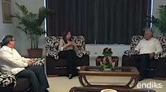 "Encuentro ""fraternal"" entre Cristina Kirchner y el presidente cubano"