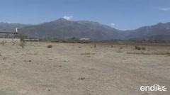 Esta laguna de Chile se secó y las imágenes son increíbles