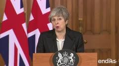 """May sigue """"determinada"""" a llevar a cabo el Brexit"""
