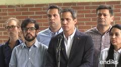 Guaidó no se intimida tras arresto de su jefe de despacho