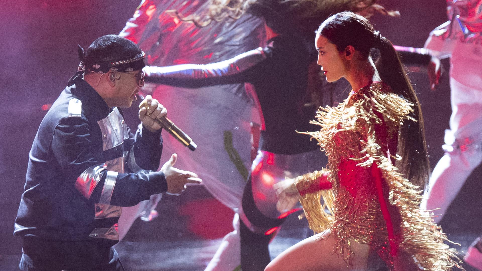 Emocionante encuentro entre Daddy Yankee y Zuleyka Rivera