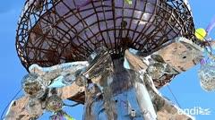 Extravagante festival de arte pone en el mapa un pueblo de EE.UU.