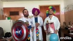 Inspirados en Patch Adams, estos doctores buscan llevar alegría a los pacientes en Venezuela