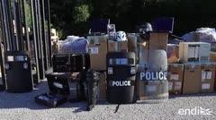 Oficiales de Florida Central donan equipo para la Policía de Puerto Rico