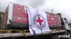 Así entró un cargamento humanitario a Venezuela