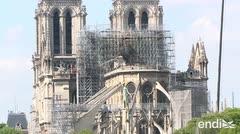 Lanzan un concurso para reconstruir la aguja de Notre Dame