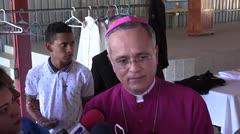 Explosivas declaraciones del obispo que sufrió amenazas de muerte