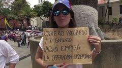 """Guaidó llama a marcha """"más grande en la historia"""" contra Maduro"""