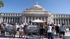 Se manifestan a favor de la legalización del cannabis