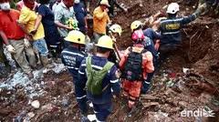 El presidente de Colombia visita la zona afectada por el mortal deslave