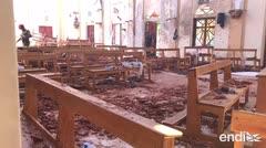 Sri Lanka acusa a un grupo de islamistas por los atentados