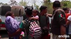 Impactantes escenas de la detención de migrantes en México