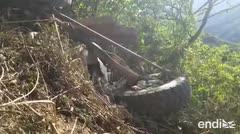 Autobús de pasajeros cae a precipicio en Bolivia