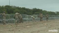 Trump enviaría soldados armados a la frontera con México