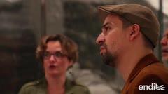 Lin-Manuel Miranda se impresiona en el Museo de Arte Contemporáneo
