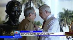 Rusia premia a Raúl Castro en La Habana