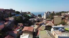 Valparaíso, una galería al aire libre del grafiti y el mural urbano