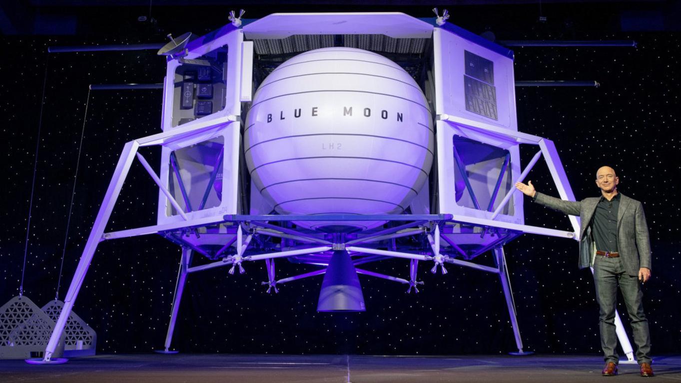 Así es Blue Moon, la nave que Jeff Bezos utilizaría para viajar a la luna