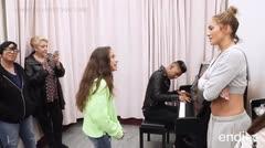 Impresionante la potente voz de la hija de JLo y Marc Anthony