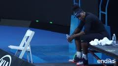 Serena Williams sufre una lesión y abandona una competencia