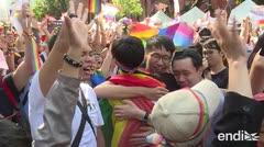 Taiwán: el primer país de Asia que legaliza el matrimonio homosexual