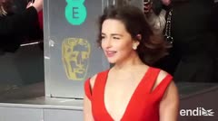 Sorprendida Emilia Clarke al leer el capítulo final de 'Game of Thrones'