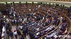 Cinco separatistas catalanes encarcelados entran al Parlamento español