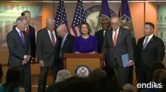 Trump se enzarza en una guerra con los demócratas, que hablan de destitución
