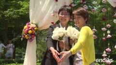 Taiwán realiza los primeros matrimonios entre personas del mismo sexo