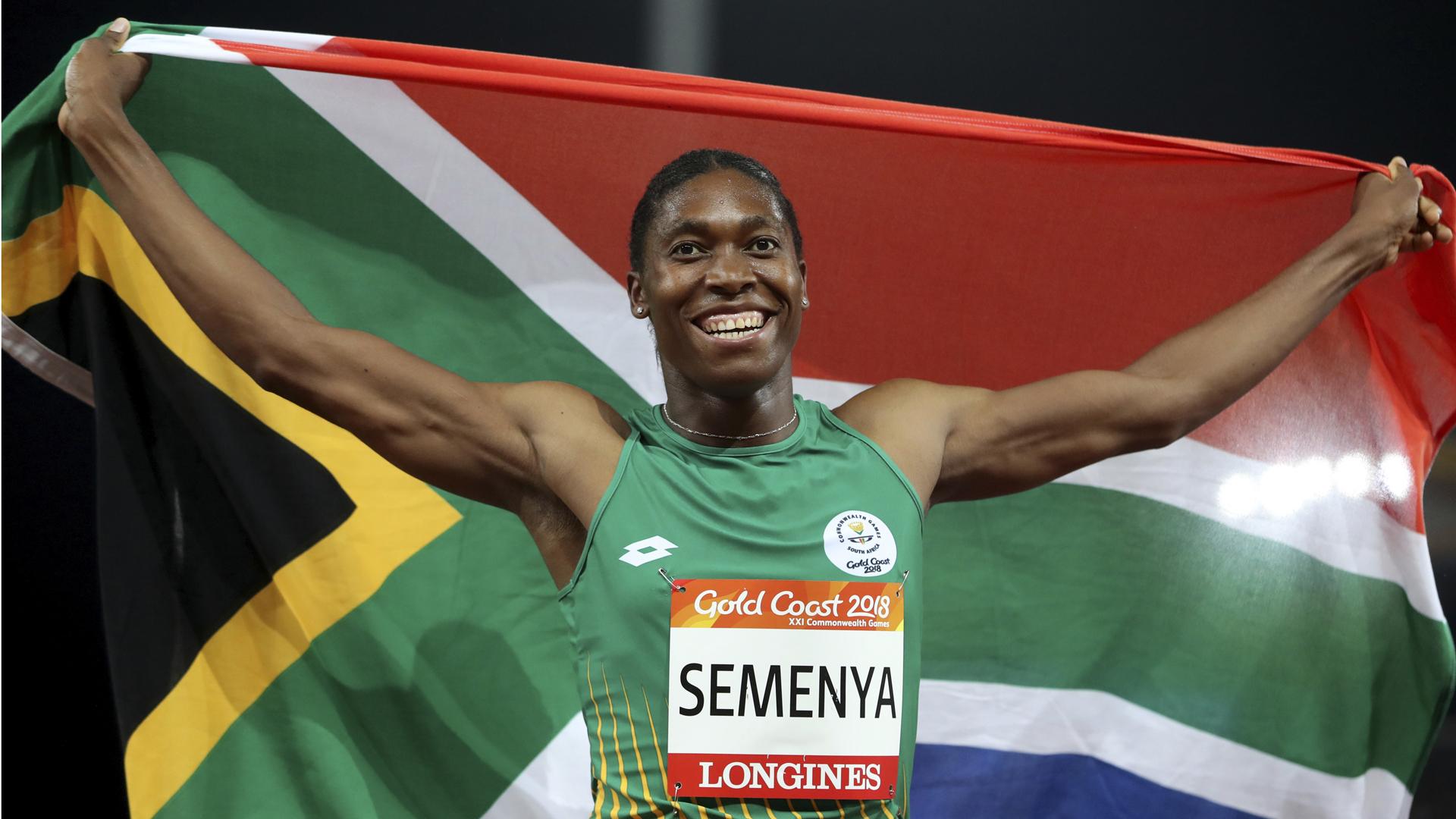 La campeona olímpica Caster Semenya alcanza un logro importante