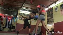 En la isla del boxeo, las cubanas pelean por subir al ring