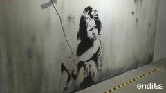 Reconstruyen varios murales de Banksy para exponerlos en París