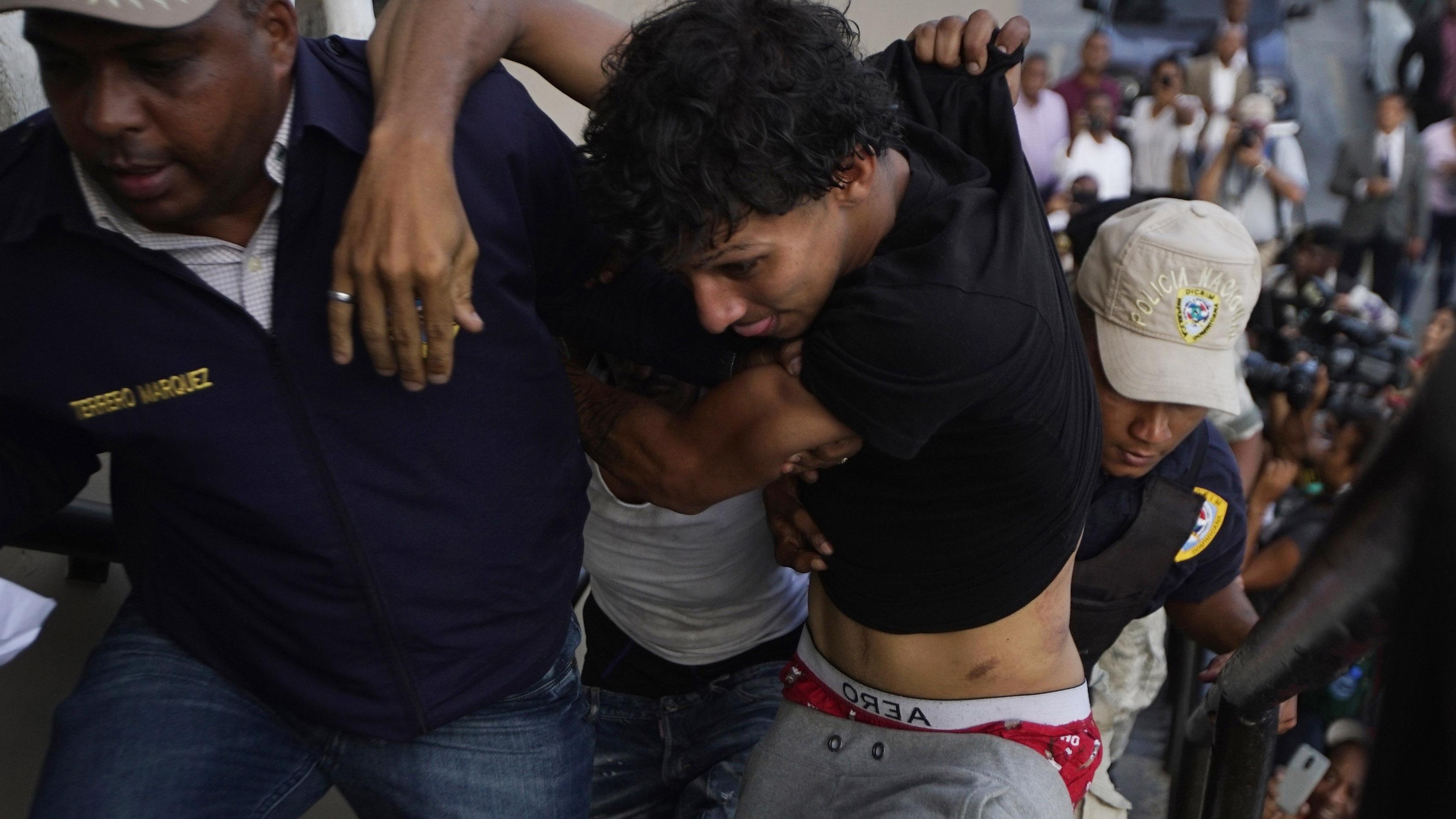 Enfrentan la justicia dominicana los sospechosos de atacar a David Ortiz