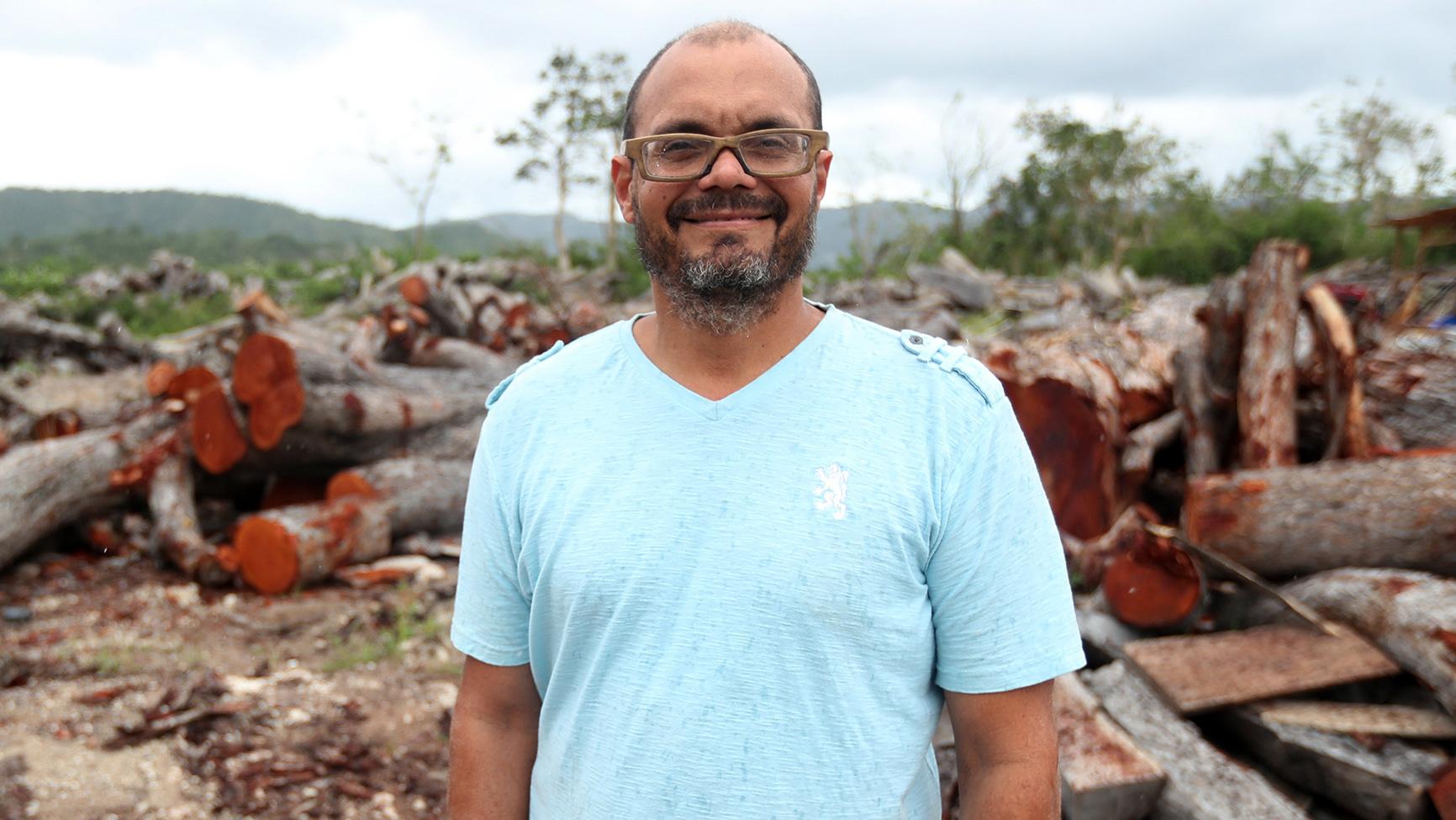 """Andrés Rúa: """"Puerto Rico tiene cientos de maderas muy buenas"""""""