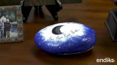 ¿Donde acabaron las rocas lunares de la buena voluntad?
