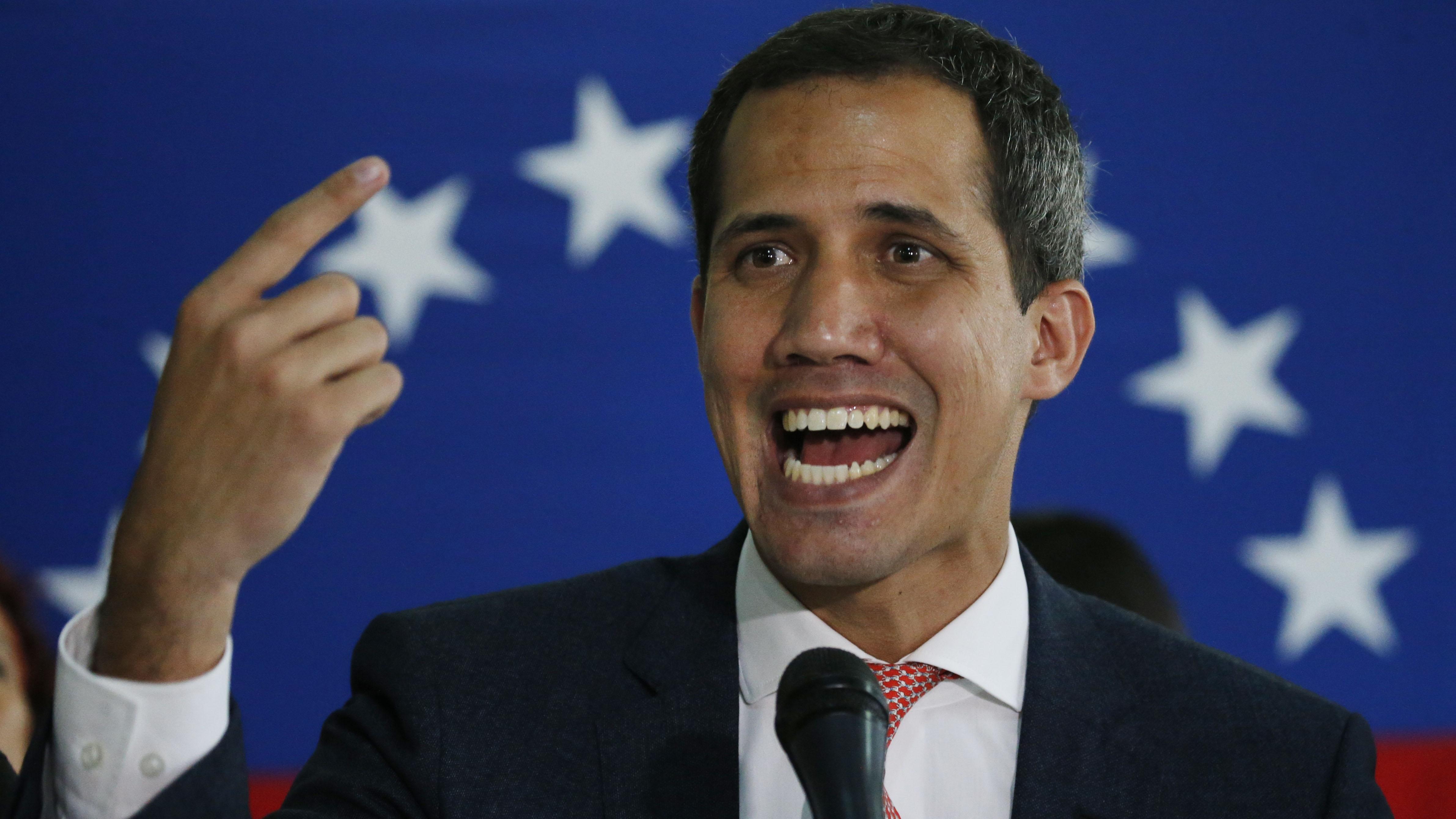 Juan Guaidó: supuestos desvíos de recursos por colaboradores eran de donaciones privadas