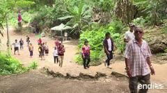 La nueva atracción turística en Tailandia: la gruta de los jóvenes atrapados