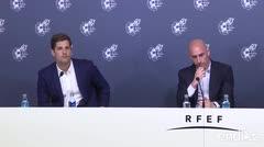 Cambio de mando en la selección española de fútbol