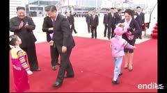 Presidente chino llega a Corea del Norte para reforzar alianza bilateral