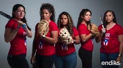 Orgullo y pasión en el equipo femenino de sóftbol